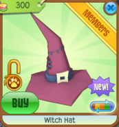 Witch Hat new dark pink