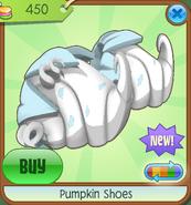 Shop Pumpkin-Shoes White