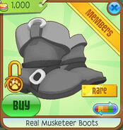 Shop Real-Musketeer-Boots Black