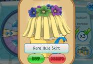 Member-Spin-Gift Rare-Hula-Skirt
