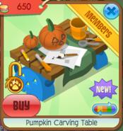 Pumpkin carving table 05