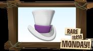 Rare Fancy Top Hat