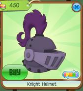 Shop Knight-Helmet Purple