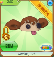 Shop Monkey-Hat Brown
