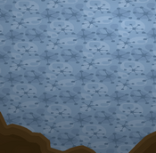 Enchanted-Hollow Blue-Shag-Carpet