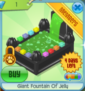 BHS Giant Fountain Of Jelly black