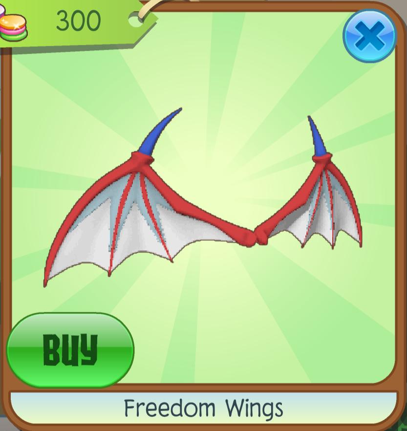 Freedom Wings | Animal Jam Wiki | FANDOM powered by Wikia