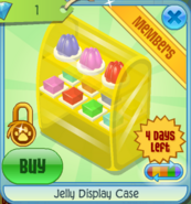 BHS Jelly Display Case yellow