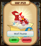 The-Claw Wolf-Plushie Rooster