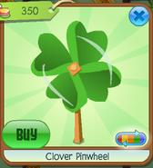 Clover pinwheel clicked