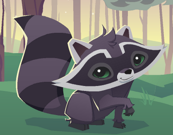 Raccoon animal jam wiki fandom powered by wikia - Animaljam wiki ...