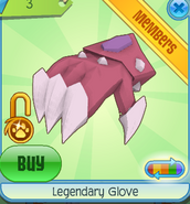 Legendary Glove Pink