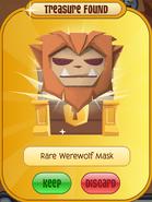 TFDPrize Rare Werewolf Mask Orange