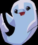 Dolphin happy graphic