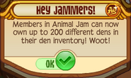 Hey Jammers 200 Dens