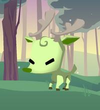 Pet reindeer1