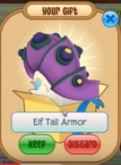 Purple Beta Elf Tail Armor