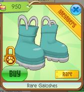Rare galoshes1