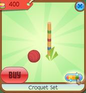Shop Croquet-Set Ball-Post Red