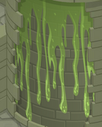 Sky-Kingdom Green-Slime-Wall