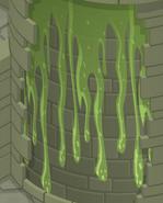 Sky-Kingdom Green-Slime-Wall