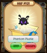 The-Claw Phantom-Plushie Purple