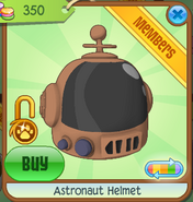 Shop Astronaut-Helmet Black