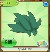 Shop Spiked-Hair Green