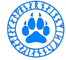 Blue Paw Magic Symbol