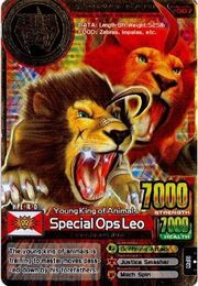 Special Ops Leo Card