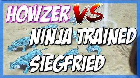 Howzer VS Ninja Trained Siegfried Strong Animal Kaiser Maximum Tournament