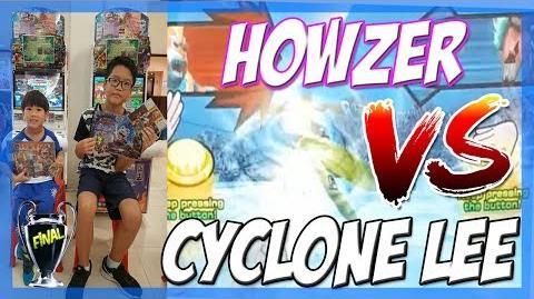Strong Animal kaiser Maximum Tournament Cyclone Lee VS Howzer 10 Jun 2017 1pm Final