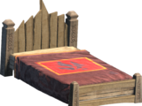 Medieval Noble Bed