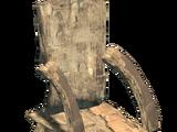 Tall Rustic Chair