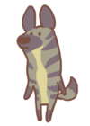Striped Jackal