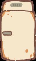 Old-Fashioned Fridge