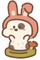 Picnic lop-eared rabbit