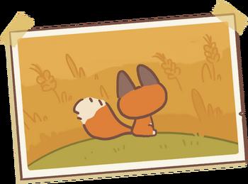 Little Fox's Letter