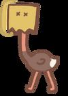 Paper Bagged Ostrich
