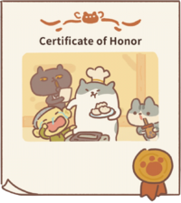 Certificate of honor2