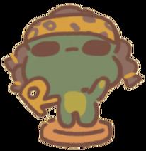 Hip hop toad