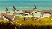 Phineas and Ferb Gazelles