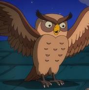 Simpsons Owl
