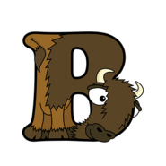 B for Bison