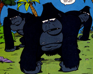 Dexter's Lab Comic Gorillas