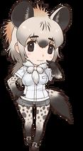 Kemono Freinds Spotted Hyena