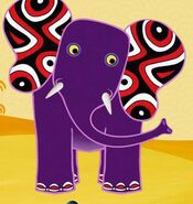 African-elephant-tinga-tinga-tales