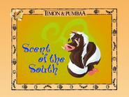 Pumbaa as a skunk