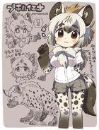Spotted-hyena-kemono-friends