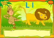 CBeebies Lion